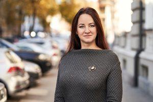 Inga Ruginienė, Lietuvos profesinių sąjungų konfederacijos pirmininkė   Asmeninio albumo nuotr.