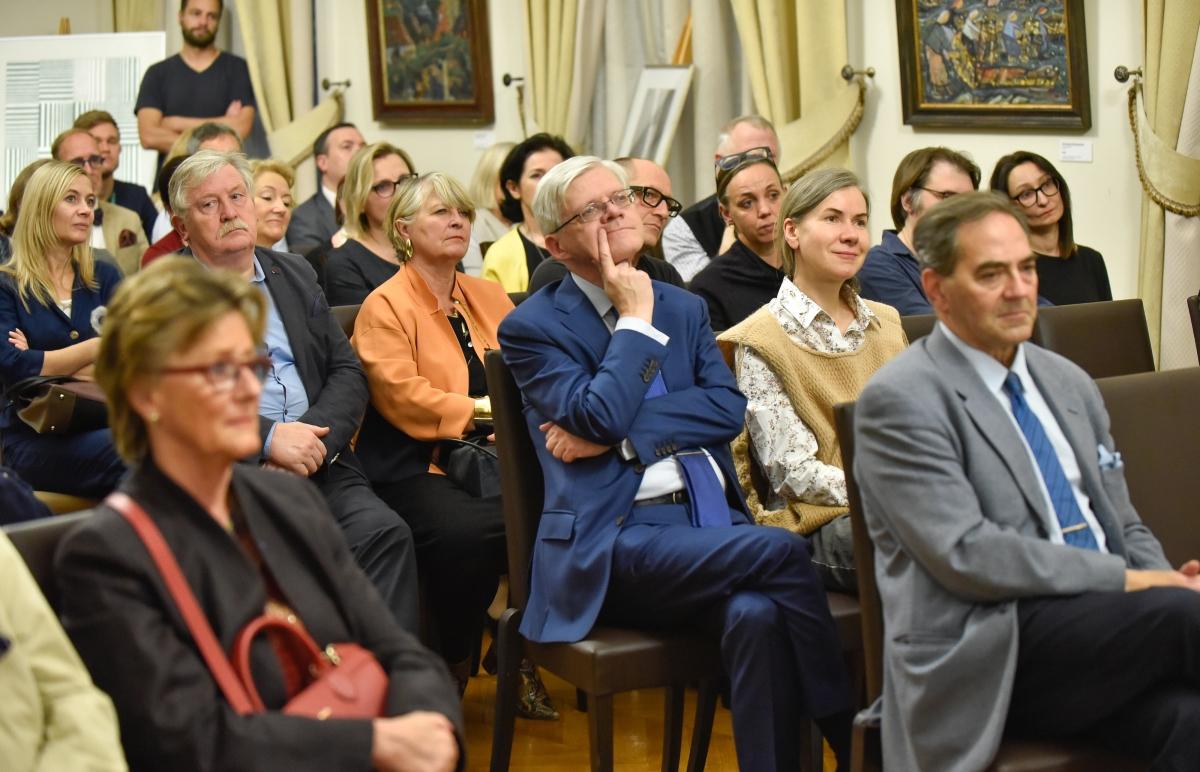 Belgijoje pristatyta knyga apie Lietuvą ir jos kultūrą | urm.lt nuotr.