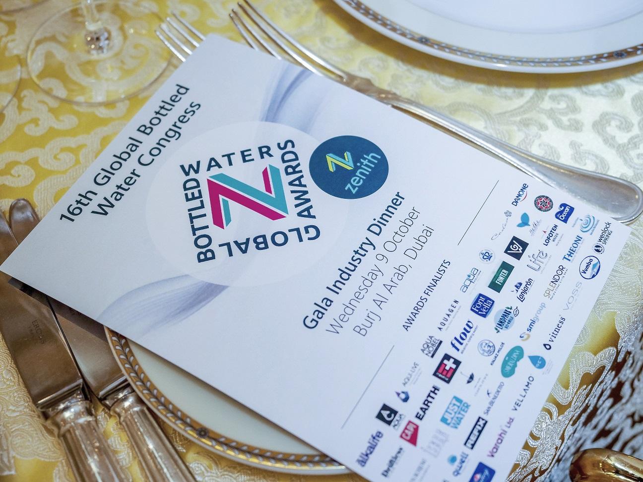 """""""Global Bottled Water Congress"""" konkurse """"akvilė"""" įmonei įteiktas apdovanojimas   įmonės nuotr."""