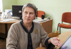 Vilniaus universiteto Geografijos ir kraštotvarkos katedros docentė, mokslų daktarė Filomena Kavoliūtė | R. Bacevičiaus nuotr.