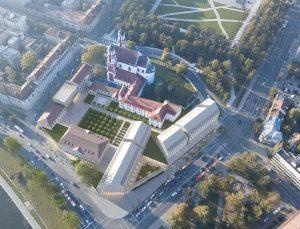 Šv. Jokūbo ligoninės architektūros konkurso nugalėtojas 1vieta   rengėjų nuotr.