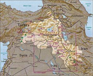 Kurdistanas | Wikipedia.org nuotr.
