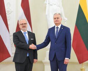 Lietuvos ir Latvijos prezidentų susitikimas | lrp.lt nuotr.