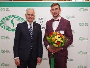M.Lukšienės premijos laimėtojas - istorijos mokytojas Arnas Zmitra | R. Česnavičienės nuotr. nuotr.