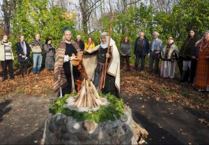Krivio dienos apeiga ant Gedimino Kapo kalno | Alkas.lt, V. Kašinsko nuotr.