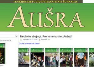 "Žurnalas ""Aušra"" | punskas.pl nuotr."