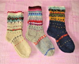 Megztos raštuotos kojinės | tarpmergaiciu.lt nuotr.