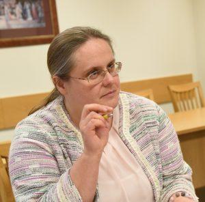 Teisės ir teisėtvarkos komiteto pirmininkė Agnė Širinskienė | S. Žumbio nuotr.
