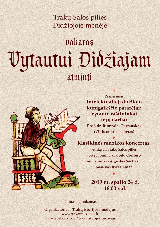 Programa | Trakų istorijos muziejaus nuotr.