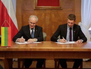 Pasirašyta Lietuvos ir Lenkijos deklaracija dėl glaudesnio bendradarbiavimo švietimo srityje | smm.lt nuotr.