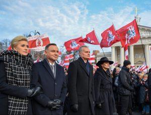 Sukilimo vadų ir dalyvių valstybinių laidotuvių iškilmės | lrp.lt nuotr.