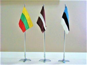 Baltijos valstybių vėliavėlės | kam.lt nuotr.