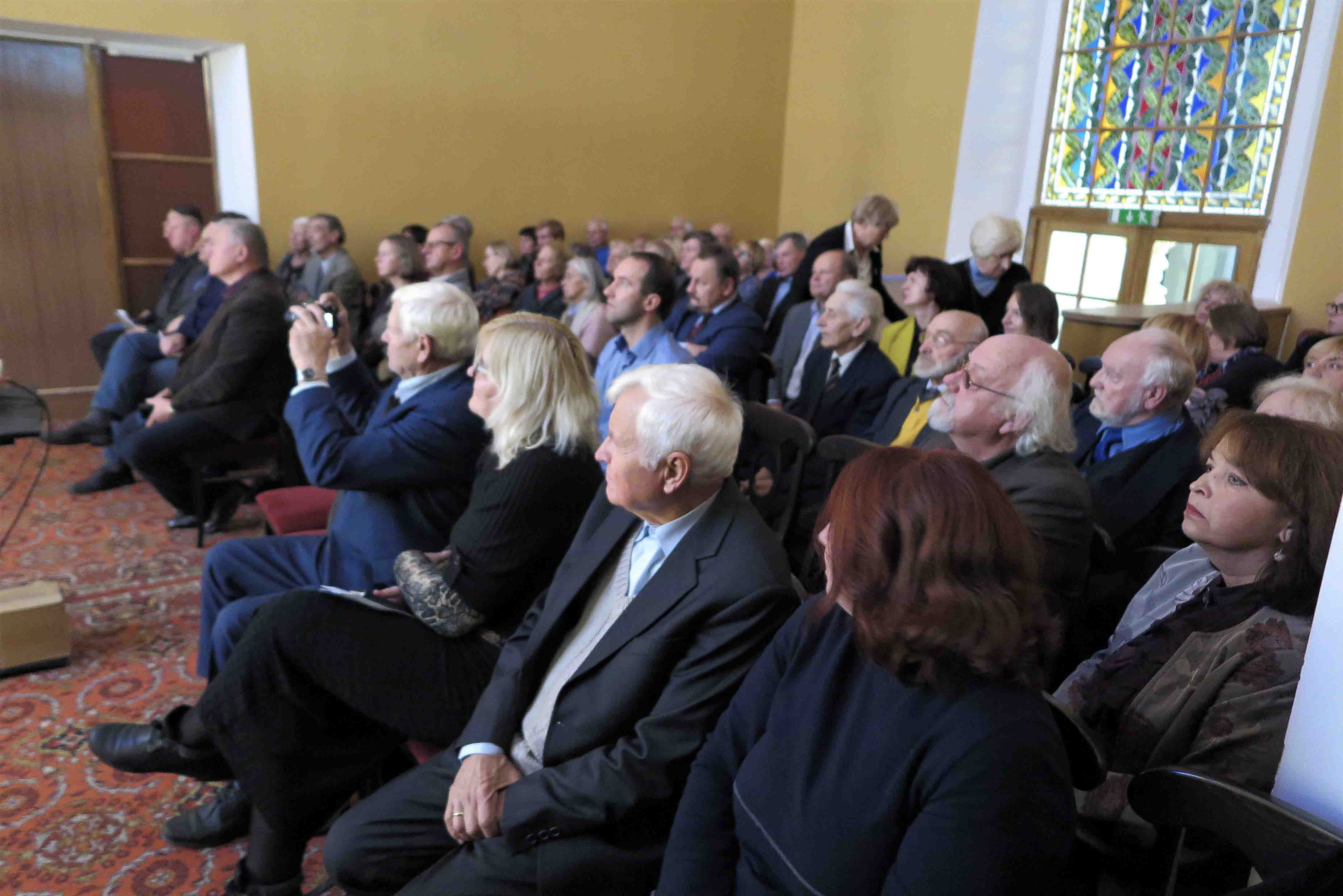 Renginyje dalyvavo daug profesoriaus A. Tylos bičiulių ir bendradarbių   rengėjų nuotr.