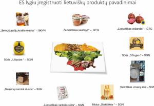 ES įregistruoti lietuviškų gaminių pavadinimai | zum.lt nuotr.
