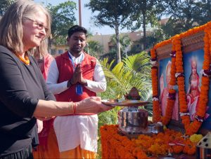 """Romuvos"" atstovai vieši Indijoje   Alkas.lt, V. Kašinsko nuotr."
