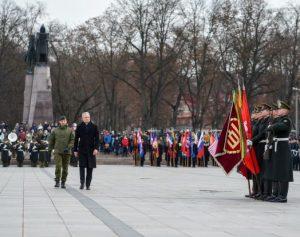 Prezidentas sveikina Lietuvos kariuomenę | prezidentas.lt nuotr.