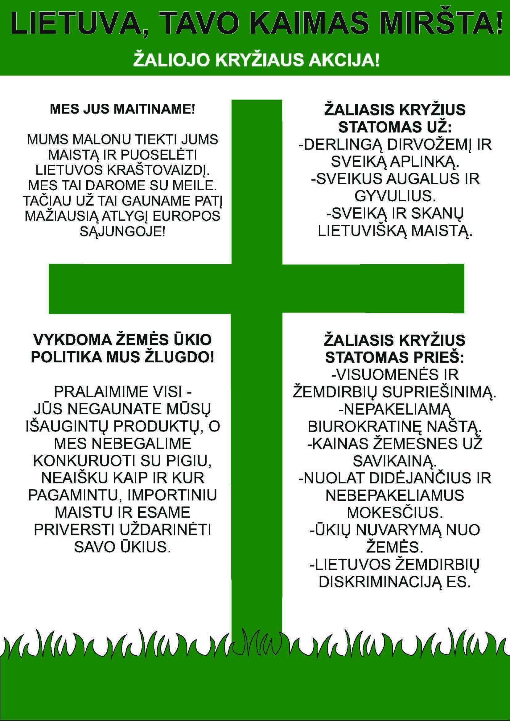 Zaliasis kryzius