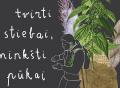 Augalų pažinimo ekskursiją su gamtininku Giedriumi Vaivilavičiumi | Rengėjų nuotr.