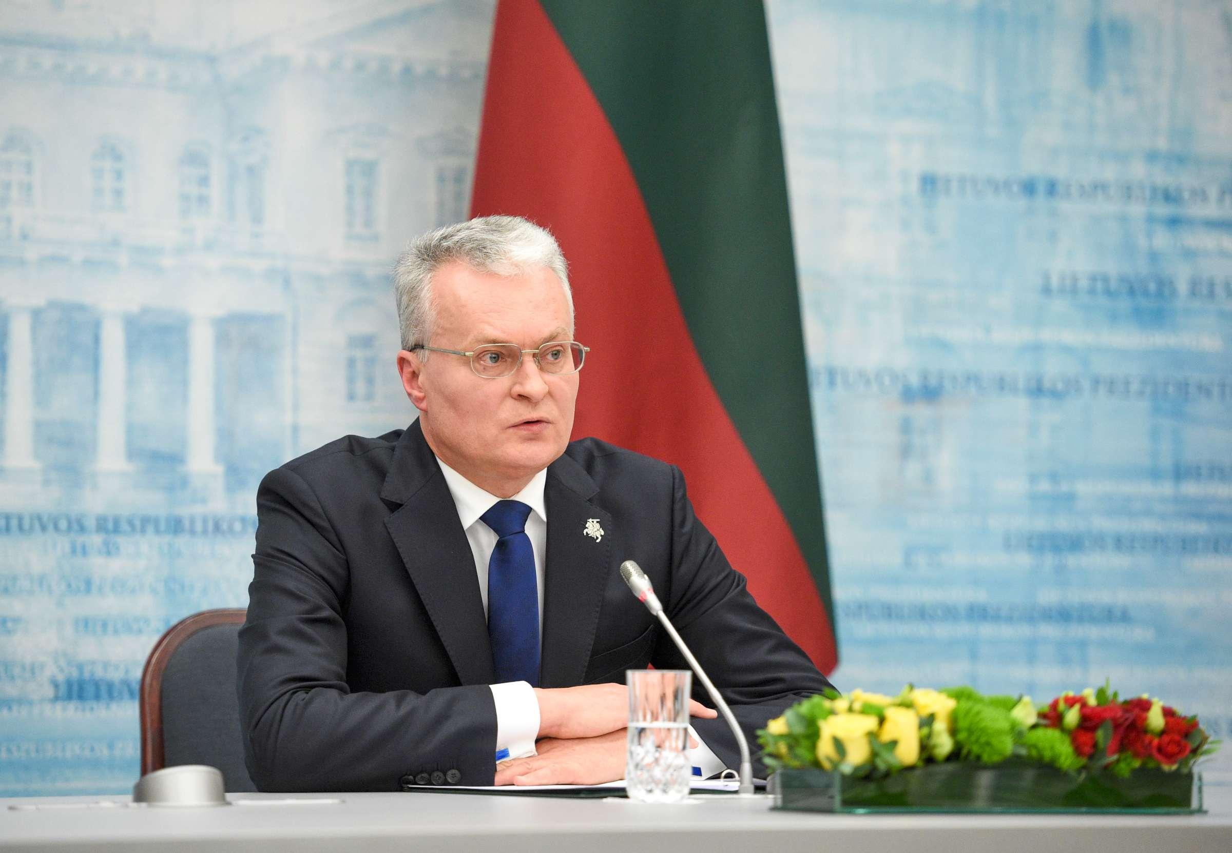 Susitiko Lietuvos ir Lenkijos prezidentai   lrp.lt, R. Dačkaus nuotr.