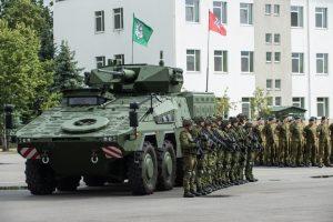Vyriausybė pritarė principinei kariuomenės struktūrai ir ribiniams skaičiams | I. Budzeikaitė, LK nuotr.