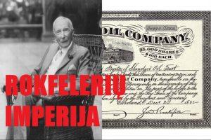 Džonas D. Rokfeleris (John D. Rockefeller) | Youtube nuotr.