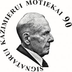 Virtualios parodos logotipas   autorius  dail. Jokūbas Zovė. 2019 m.