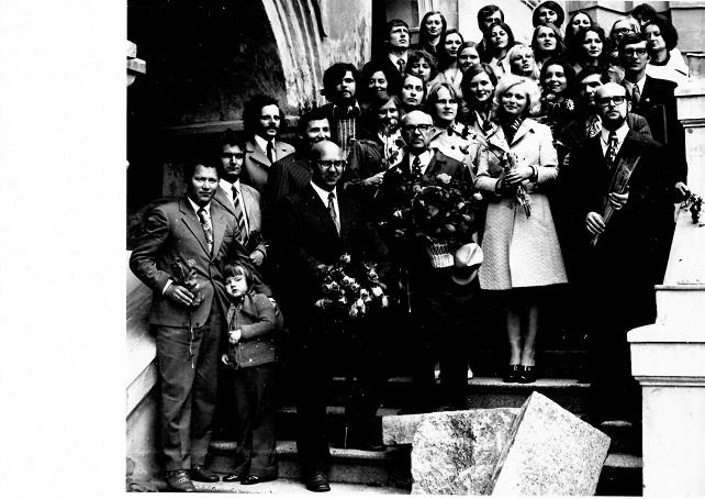Pirmoji psichologų laida, 1974 m. birželis | VU nuotr.