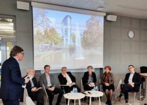 Europos mokslo tarybos prezidentas Vilniuje susitinka su aukščiausio lygio tyrimus vykdančiais mokslininkais | smm.lt nuotr.