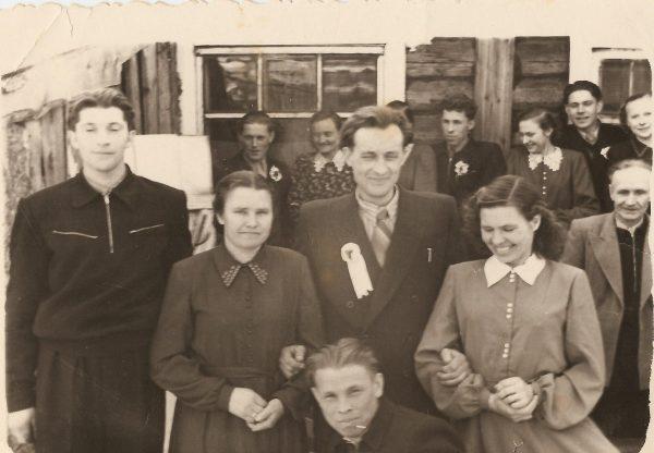 1958 m. vestuvės Baruno kaime   Asmeninė nuotr.