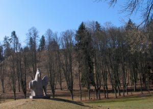 Birštono piliakalnis bus naujai pritaikytas lankymui | lrv.lt nuotr.