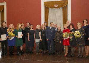 Įteiktos 2019 metų Kultūros ministerijos premijos | lrv.lt nuotr.