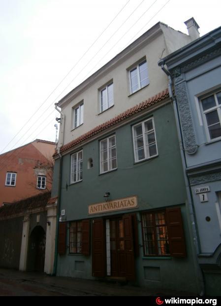 Vysk. J. Stroinovskio namas Vilniuje, Pilies g. 9 | Vikipedijos nuotr.