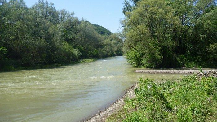 Laboreco upė ties Udavos žiotimis, ties kur lisauskėliai pirmą kartą sumušė J. Rakočo raitelius | webgarden.cz nuotr.