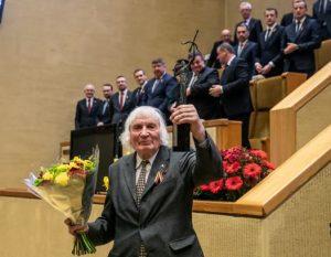 Albinui Kentrai paskirta Laisvės premija | lrs.lt nuotr.