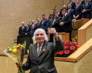 Albinui Kentrai įteikta Laisvės premija | lrs.lt nuotr.