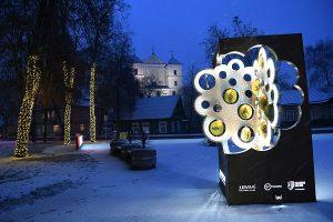 Kultūros sostinės 2020 medis prie Trakų savivaldybės | Trakų rajono savivaldybės nuotr.