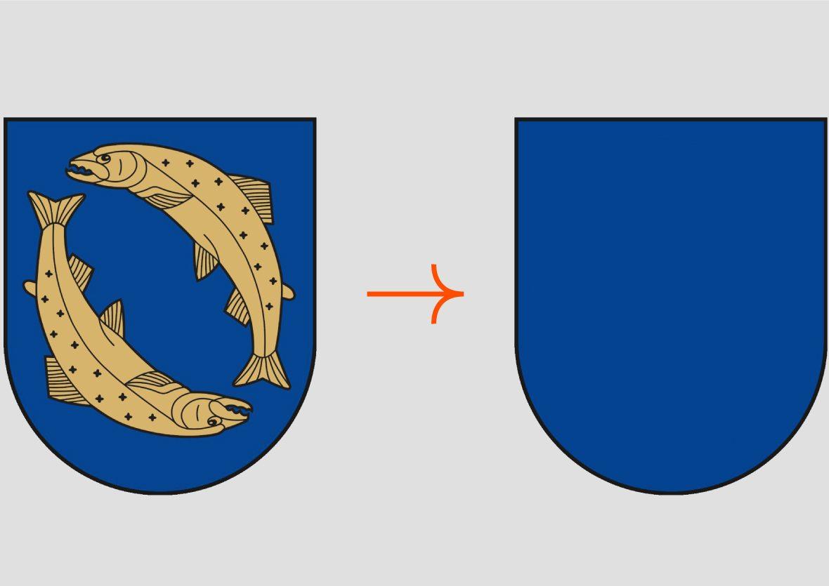 Karmėlavos herbas be žuvų | glis.lt nuotr.