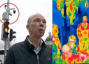 Vilniaus gatvėse matuojami praeivių jausmai, temperatūra, kvėpavimo dažnis   Mokslo sriubos koliažas