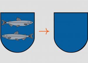 Švenčionių herbas be žuvų | glis.lt nuotr.