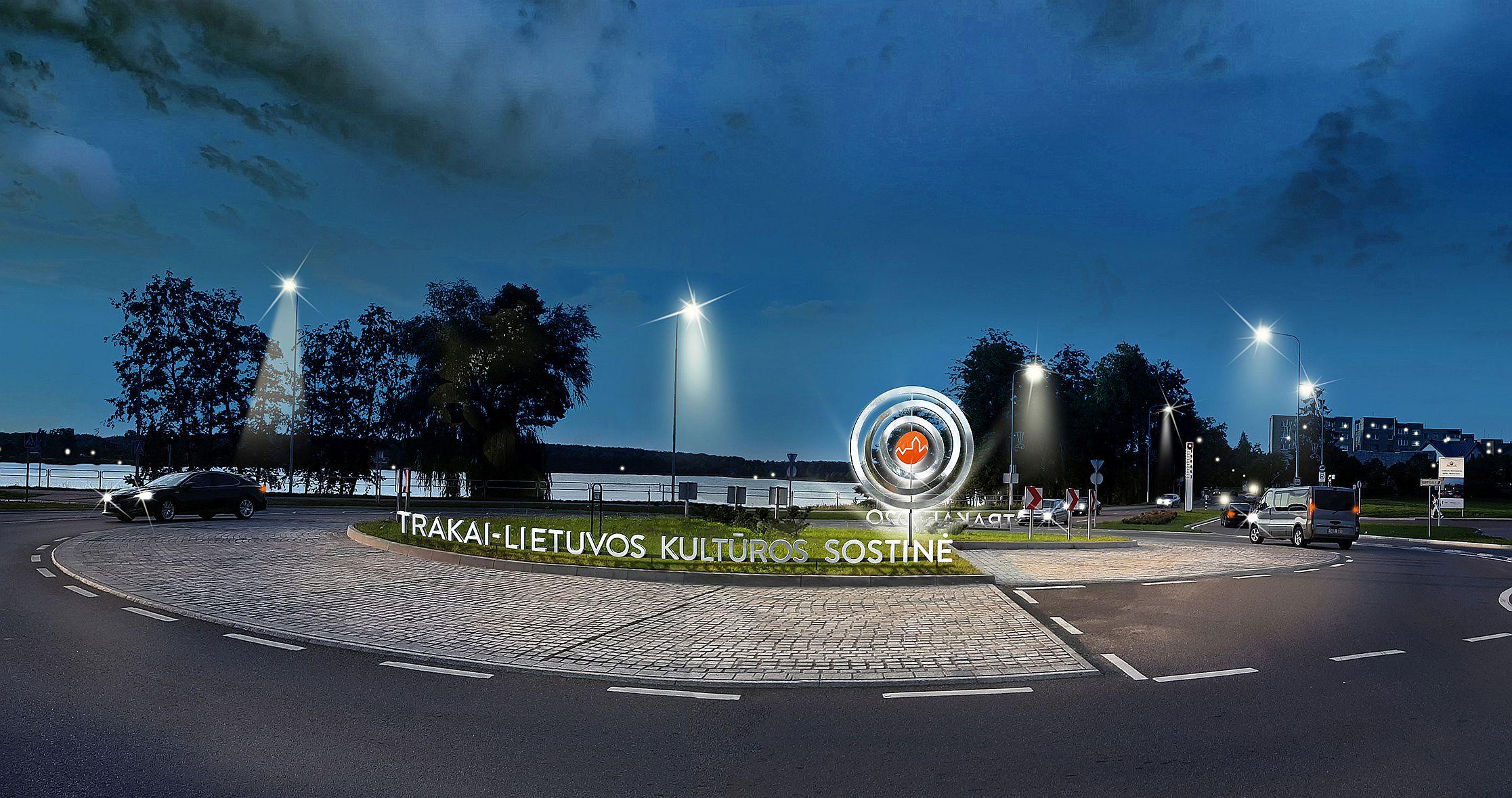 TRK Žiedas su logotipu | Trakų rajono savivaldybės nuotr.
