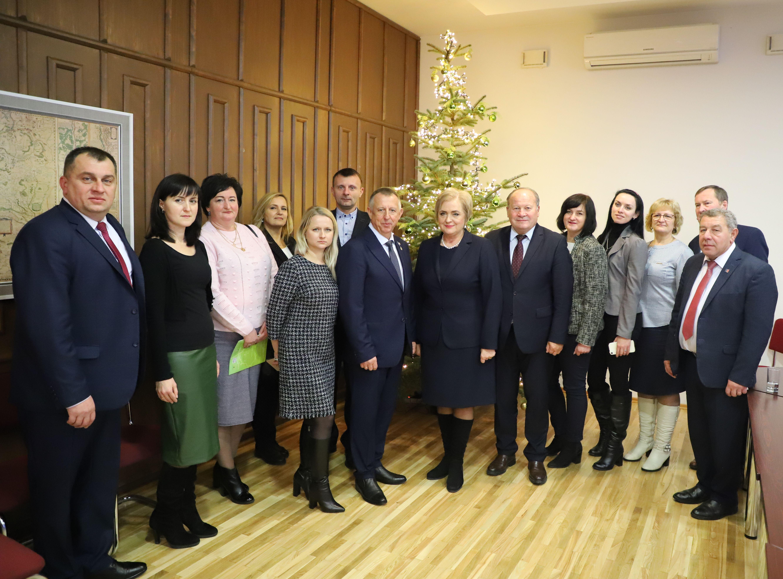Ukrainos delegacija Birštono savivaldybėje | Kauno rajono savivaldybės nuotr.