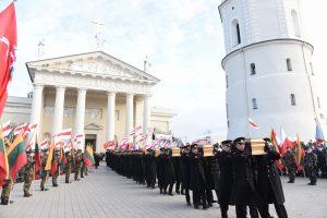 1863–1864 m. sukilimo vadų ir dalyvių laidojimo iškilmės   S. Žumbio nuotr.