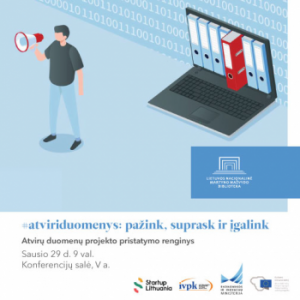 Vyks diskusija apie duomenų atvėrimą Lietuvoje | lnb.lt nuotr.