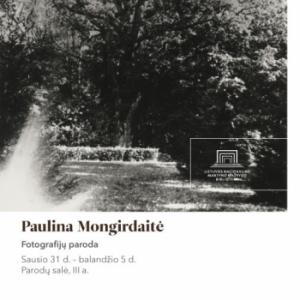 Paulinos Mongirdaitės fotografijų paroda | Lietuvos nacionalinės Martyno Mažvydo bibliotekos nuotr.