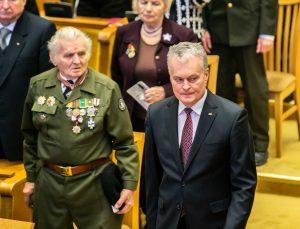 Prezidentas Gitanas Nausėda Sausio 13-osios minėjimo iškilmėse Seime | lrs.lt nuotr.