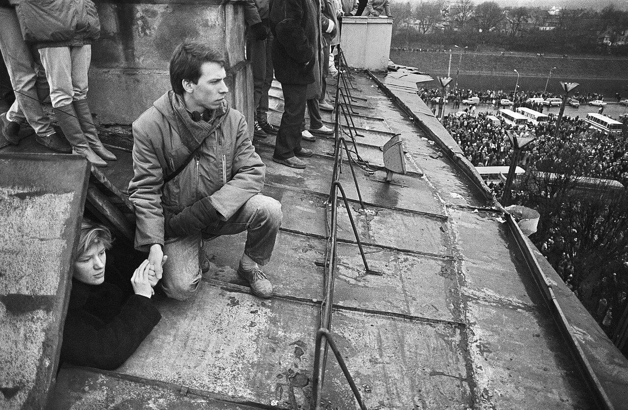 1991 metų sausis   R. Požerskio nuotr.