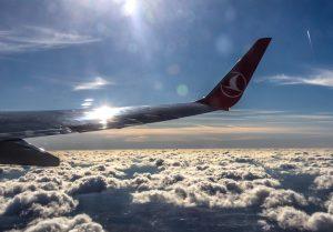 Lėktuvo sparnas | Alkas.lt, A. Sartanavičiaus nuotr.