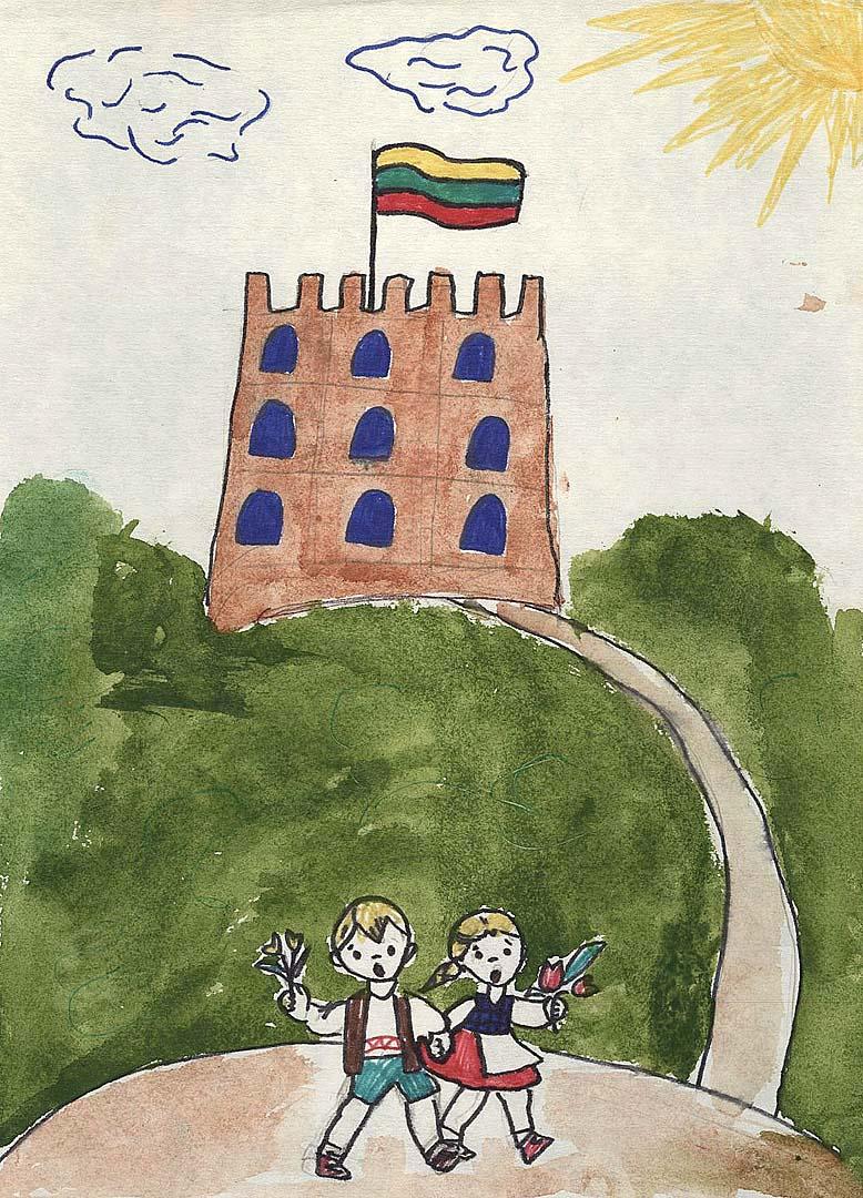 Ilona, 4 a klasė. Alytaus 11-oji vidurinė mokykla | Lietuvos nacionalinio muziejaus nuotr.