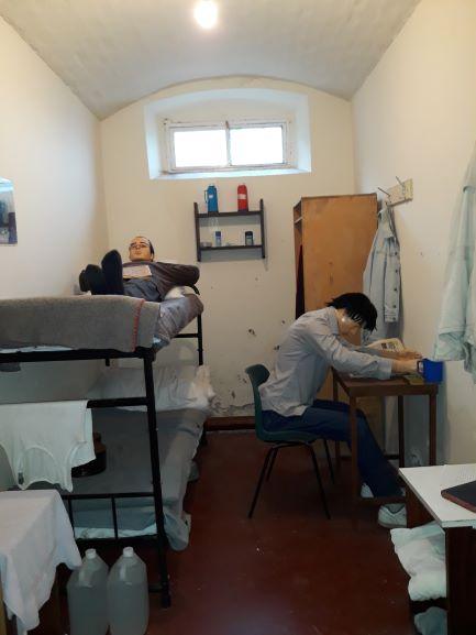 Kalėjimo kamera Airijoje | R.Jasukaitienės nuotr.