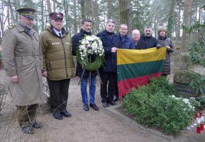 Rygoje lietuviai su latviais pagerbė 1991 m. Barikadų dienų kovotojus | R. Kaminsko nuotr.